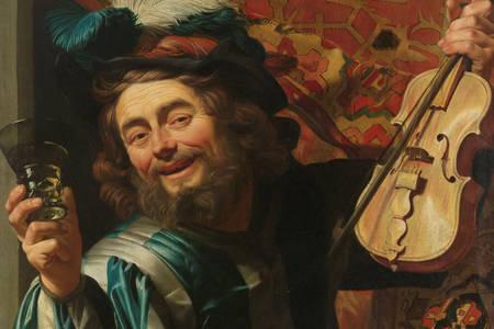 "Gerard van Honthorst: ""The Merry Fiddler"""