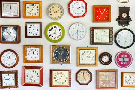 Diverses horloges murales