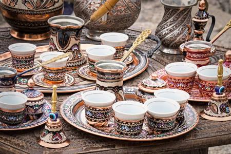 Handmade coffee service
