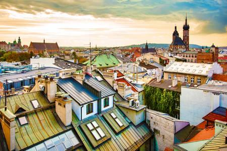 Acoperișuri din Cracovia