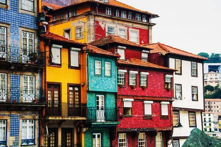 El barrio de la Ribeira de Oporto