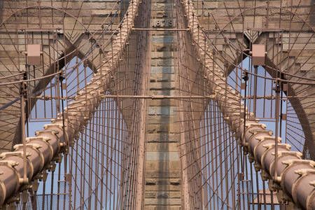 Details of the Brooklyn Bridge