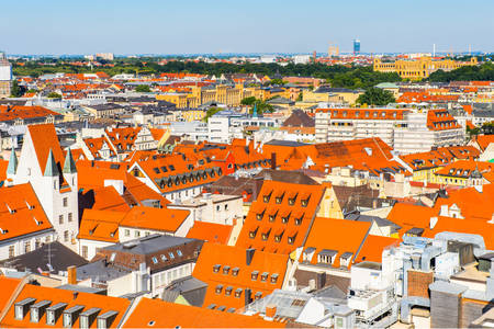 Roofs in Munich