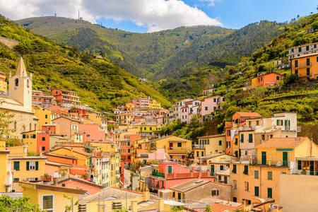 View of Riomaggiore