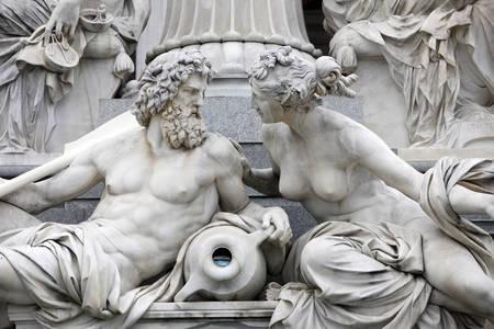 Fontein Athene Pallas