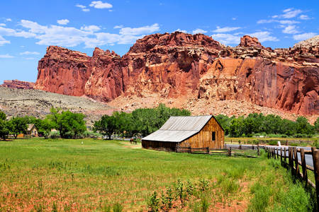 Gifford Ranch no Capitol Reef Park