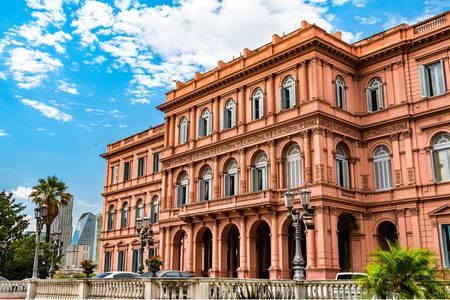 Prezidentský palác Casa Rosada