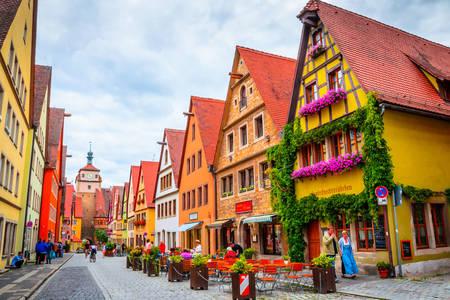 Streets of Rothenburg ob der Tauber