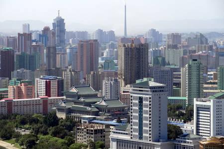 Pohľad na Pchjongjang