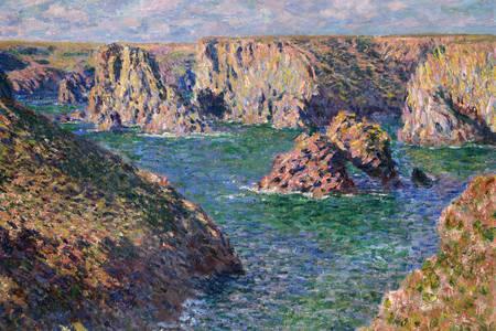 """Claude Monet: """"Port Donnant, Belle-Ile"""""""