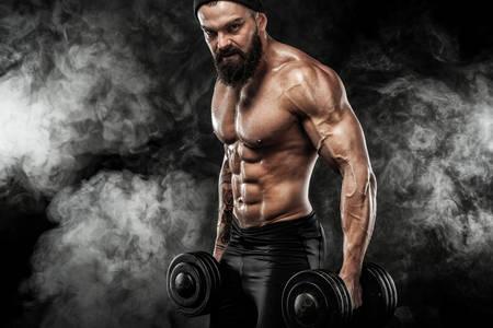 Atleta musculoso