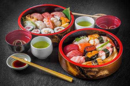Sushi w Tokio