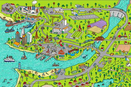 Harta orasului
