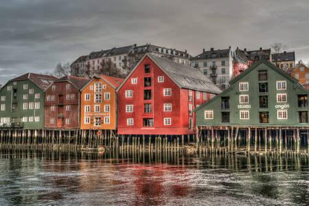Casas na água