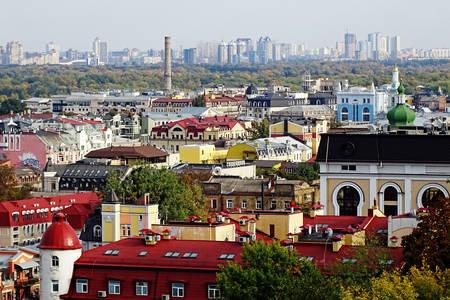 Panorama von Kiew