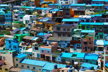 Villages lunaires de Corée du Sud