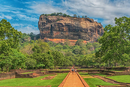 Fortezza di Sigiriya, Lion Rock