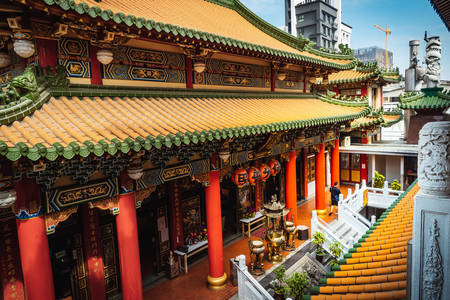 Temple architecture in Taiwan