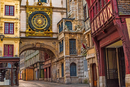 Rouen Astronomical Clock