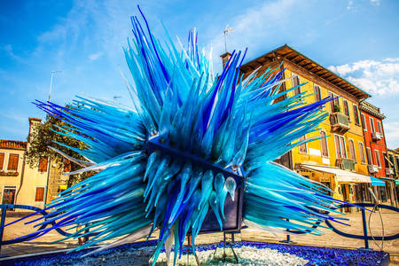 Glass sculpture on the island of Murano