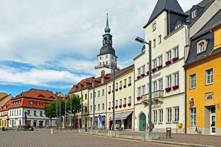 Frankenberg market square