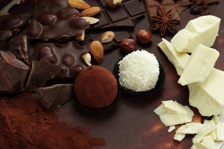 Chocolate and truffles