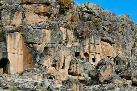 Valley of monasteries in Guzelyurt