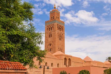 Vista de la mezquita de Al-Koutoubiya