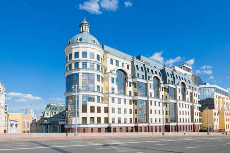 The building of the Head Office of the Bank of Russia in Moscow