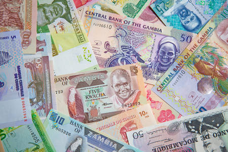 African banknotes