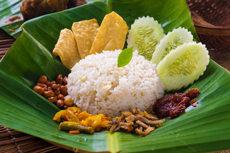 Malay curry rice