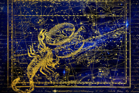 Constellation scorpio