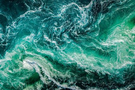 Abstraktné morské pozadie