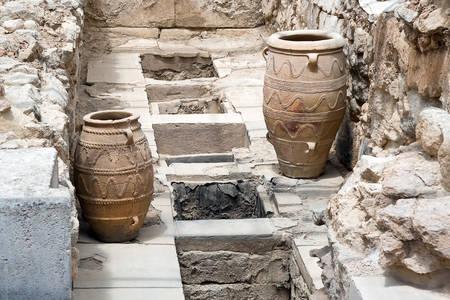 Kannen uit het paleis van Knossos