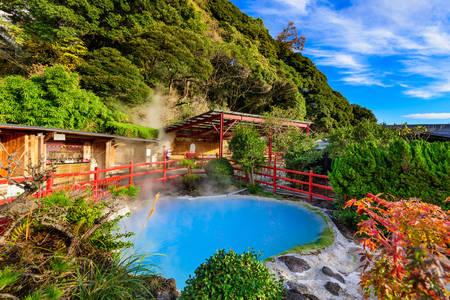 Ιαματικές πηγές στο Beppu