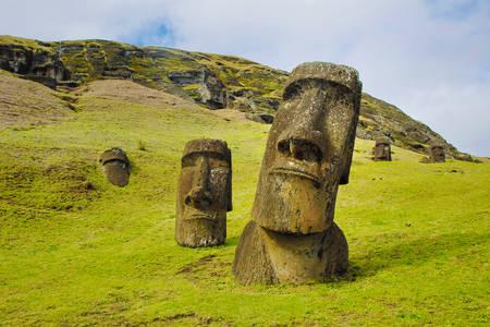 Statues de moai