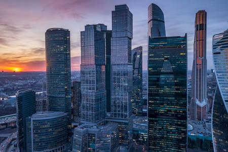 Επιχειρηματικό κέντρο Μόσχα-Πόλη