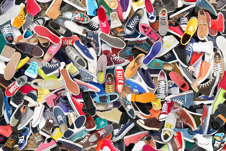 Collection de chaussures