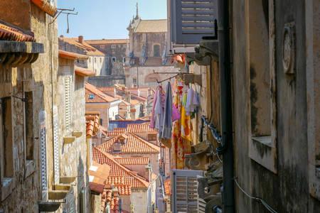 Calles estrechas de Dubrovnik