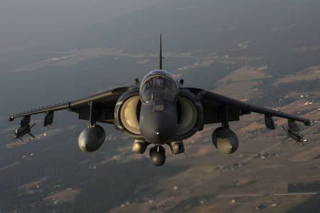 Avion d'attaque AV-8B Harrier