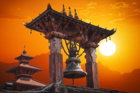Templi a Durbar Square a Bhaktapur