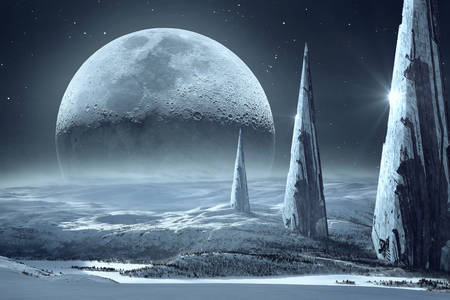 Фантастична луна