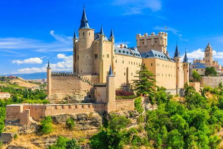 Cetatea Alcazar din Segovia