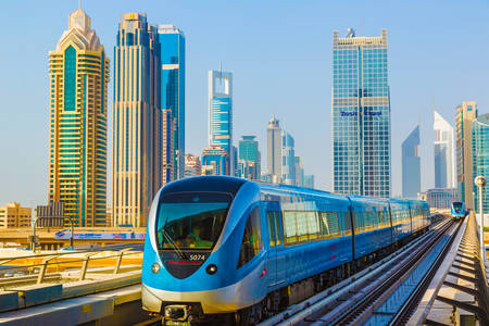 Metro u Dubaiju
