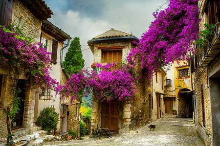 Cidade velha em Provence
