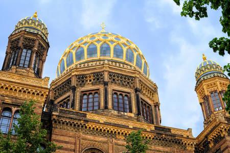 Nuova sinagoga a Berlino