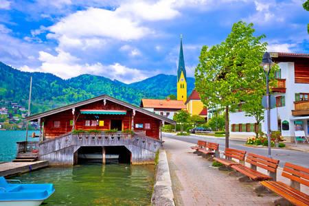 Rottach-Egern village