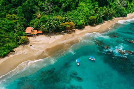 Insulă tropicală din Costa Rica