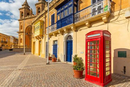 Marsaxlokk town architecture