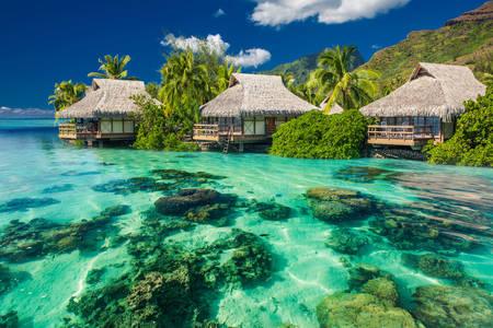 Bungalov na Tahiti